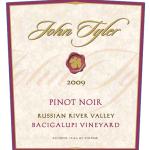 New Release 2009 Pinot Noir
