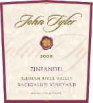 New release 2009 John Tyler Zinfandel